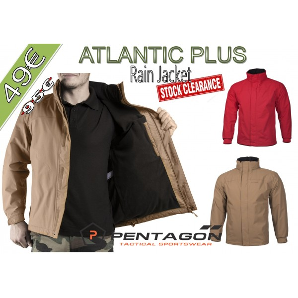 Atlantic Plus Rain Jacket (stock)