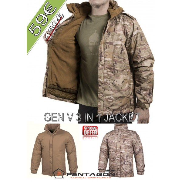 Gen V 3 in 1 Jacket